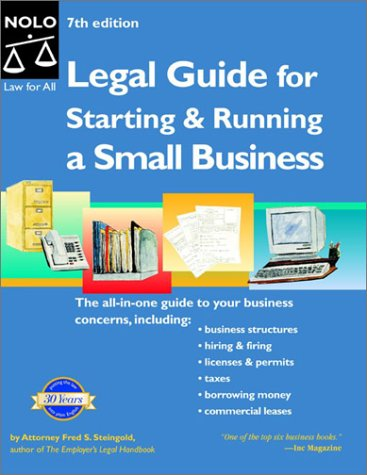 Legal Guide for Starting and Running a Small Business 9780873379106