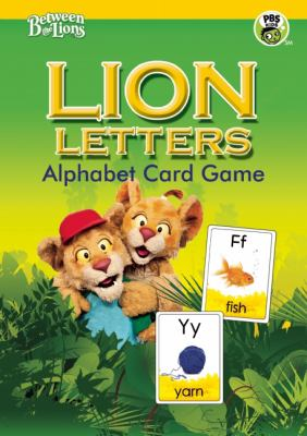 Lion Letters Alphabet Card Game