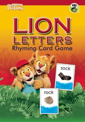 Lion Letters Rhyming Card Game 9780876593080