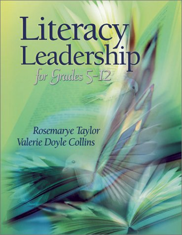 Literacy Leadership for Grades 5-12 9780871207456