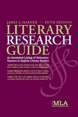 Literary Research Guide 9780873528085
