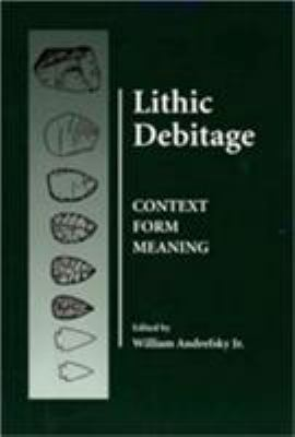 Lithic Debitage 9780874807684