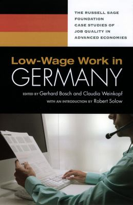 Low-Wage Work in Germany 9780871540621