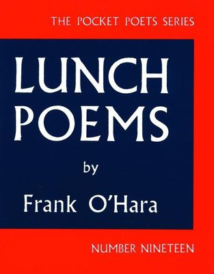 Lunch Poems 9780872860353