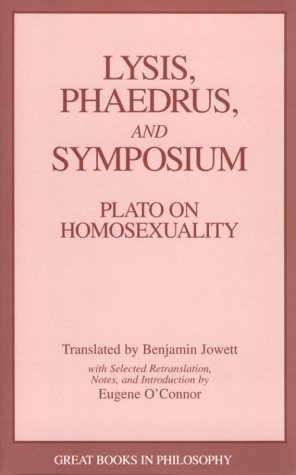 Lysis Phaedrus and Symposium 9780879756321
