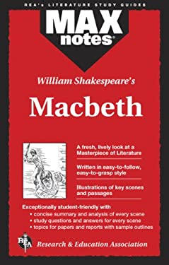 Macbeth (Maxnotes Literature Guides) 9780878919444