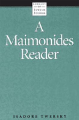 Maimonides Reader 9780874412062