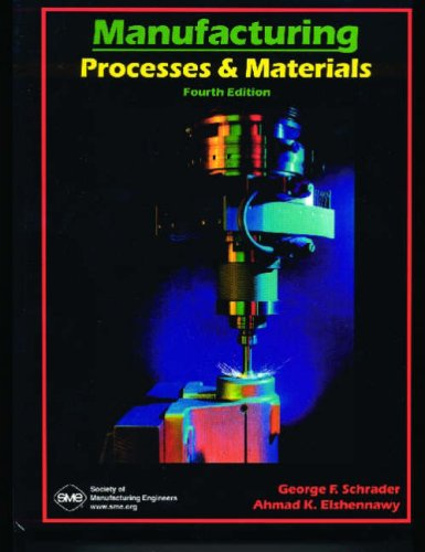 Manufacturing: Processes & Materials 9780872635173