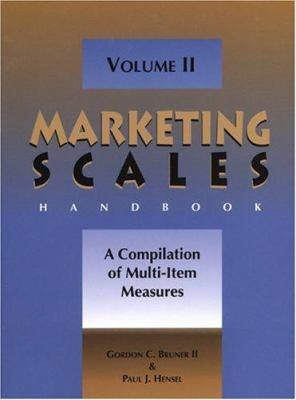 Marketing Scales Handbook, Volume II: A Compilation of Multi-Item Measures 9780877572619