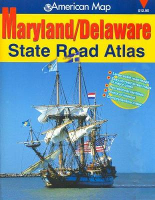 Maryland & Delaware State Road Atlas 9780875303918