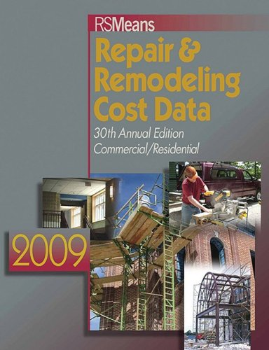 Means Repair & Remodeling Cost Data 9780876292068