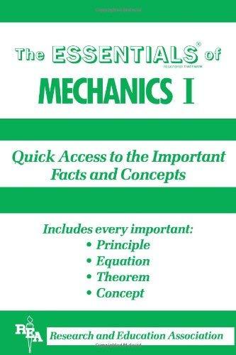 Mechanics I 9780878916115