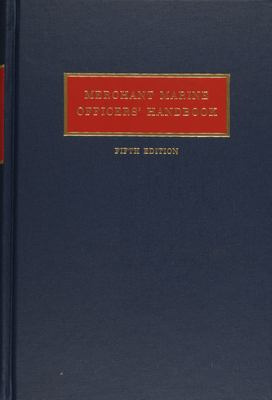 Merchant Marine Officers' Handbook 9780870333798