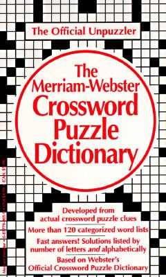Merriam-Webster Crossword Puzzle Dictionary 9780877799054