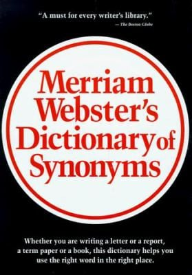 Merriam-Webster Dictionary of Synonyms 9780877793410