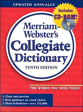 Merriam-Webster's Collegiate Dictionary (Jacketed, Red Linen, Indexed, Book ) [With *] 9780877797135