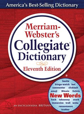 Merriam-Webster's Collegiate Dictionary: Thumb-Indexed 9780877798095