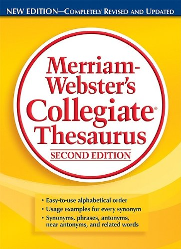 Merriam-Webster's Collegiate Thesaurus 9780877792697