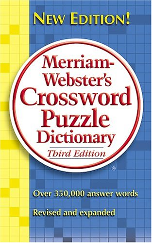 Merriam-Webster's Crossword Puzzle Dictionary 9780877799283