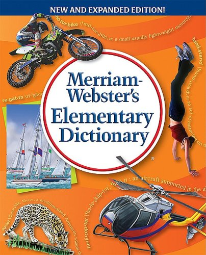 Merriam-Webster's Elementary Dictionary 9780877796756