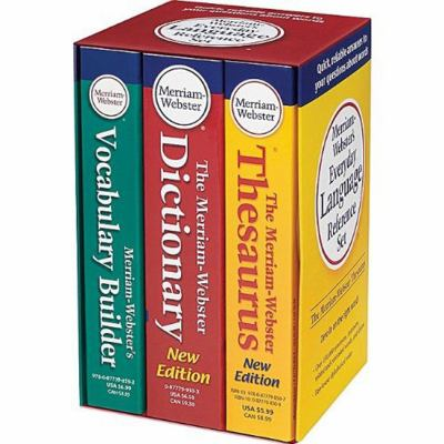 Merriam-Webster's Everyday Language Reference Set 9780877798750
