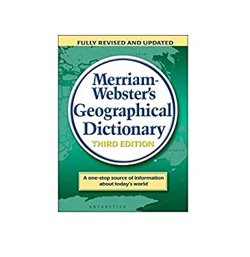 Merriam-Webster's Geographical Dictionary 9780877795469