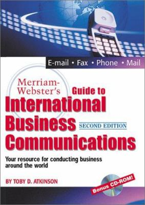 Merriam-Webster's Guide to International Business Communications [With CDROM] 9780877796084