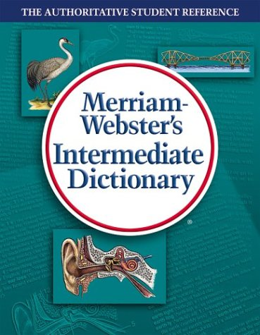 Merriam-Webster's Intermediate Dictionary 9780877795797