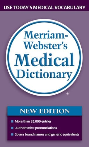 Merriam-Webster's Medical Dictionary 9780877798538