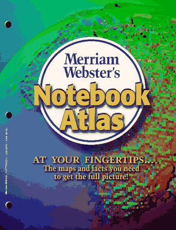 Merriam-Webster's Notebook Atlas 9780877796527