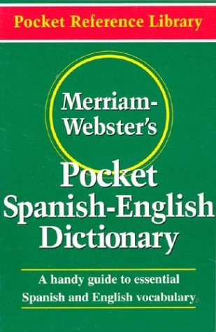 Merriam-Webster's Pocket Spanish-English Dictionary 9780877795193