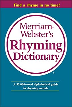 Merriam Webster's Rhyming Dictionary 9780877796329