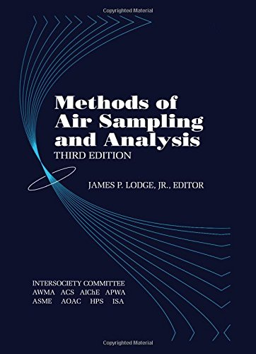 Methods of Air Sampling and Analysis, Third Edition 9780873711418