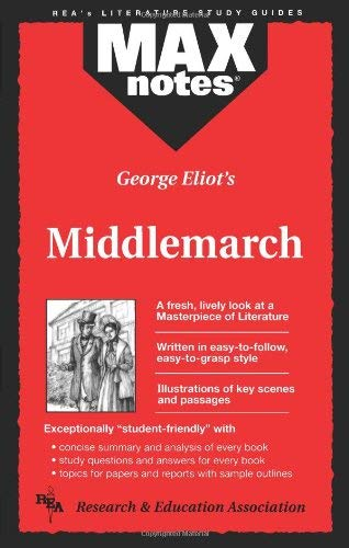 Middlemarch (Maxnotes Literature Guides) 9780878910298