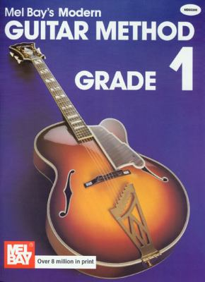 Modern Guitar Method Grade 1 9780871663542