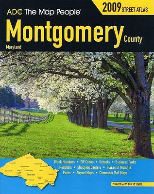 Montgomery County Maryland Street Atlas 9780875309453