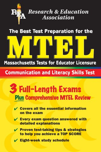 Mtel Communication & Literacy Skills (Rea) the Best Test Prep for the Massachusetts Tests for Educator Licensure: Field 01 9780878914500