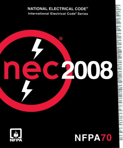 National Electrical Code 2008 Tabs 9780877658009