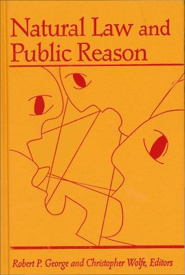 Natural Law and Public Reason 9780878407651