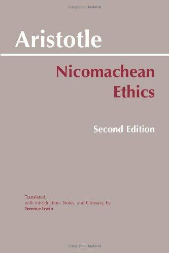 Nicomachean Ethics 9780872204645