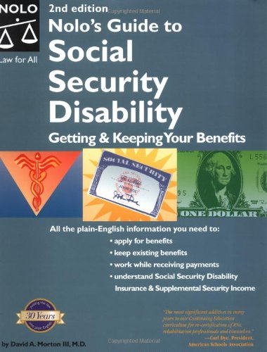 Nolo's Guide to Social Security Disability: Getting and Keeping Your Benefits 9780873379144