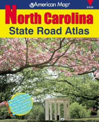 North Carolina State Road Atlas 9780875306360