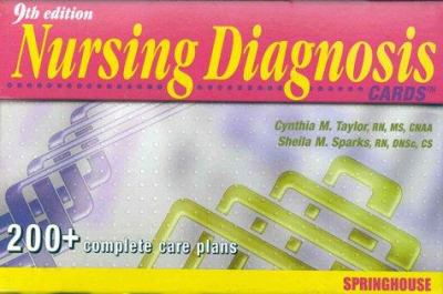 Nursing Diagnosis Cards [With Cards] 9780874349993