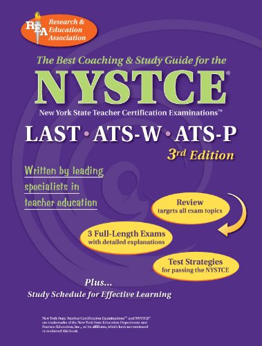Nystce Last, Ats-W, Ats-P (Rea) - The Best Test Prep for the Nystce: Last/Ats W & P 9780878914043