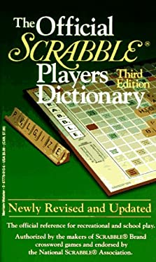Official Scrabble Players Dictionary 9780877799153