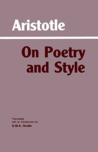 On Poetry and Style 9780872200722