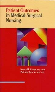 Patient Outcomes in Medical-Surgical Nursing 9780874347012