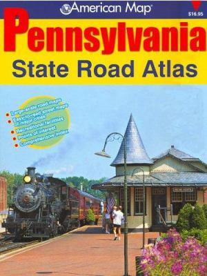 Pennsylvania State Road Atlas 9780875306834