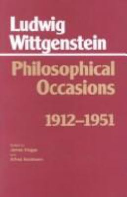 Philosophical Occasions, 1912-1951 9780872201545
