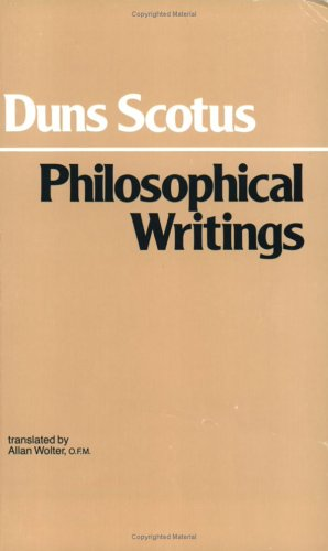 Philosophical Writings: A Selection 9780872200180